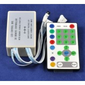 25 Keys Horse Race IR Remote RGB LED Controller 3pcs