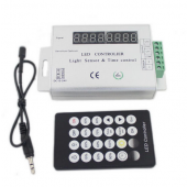 LED Light Sensor Time Control Dimmer Timing Controller 12V 24V