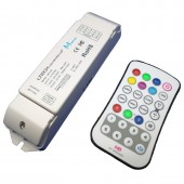 Ltech Led RF Remote Wireless RGBW Controller M8 28key Controller M8+M4-5A CV Receiver 5A*4CH for 5050 3528 RGBW Led Strips