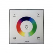 Ltech Led RGBW Controller AC110V-240V Input DX4 2.4G RF Remote and DMX512 Controller Touch Control RGB RGBW Strip Controler