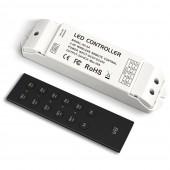 Ltech Led RGBW Strip Controller 12V-24V 4 Zone V8 2.4GHz RF Remote R4-5A 20A Output CV Receiver R4-CC DC 3V-36V CC Receiver