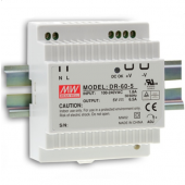 Mean Well DR-60 60W Single Output Industrial DIN Rail Power Supply