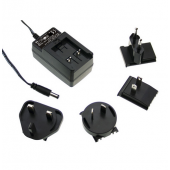Mean Well GE18 18W AC-DC Interchangeable Industrial Adaptor Power Supply