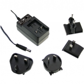 Mean Well GE30 30W AC-DC Interchangeable Industrial Adaptor Power Supply