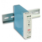 Mean Well MDR-20 20W Single Output Industrial DIN Rail Power Supply