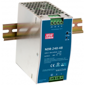 Mean Well NDR-240 240W Single Output Industrial DIN RAIL Power Supply