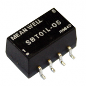 Mean Well SBT01 1W DC-DC Unregulated Single Output Converter Power Supply