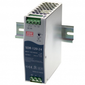 Mean Well SDR-120 120W Single Output Industrial DIN RAIL With PFC Function Power Supply