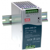 Mean Well SDR-240 240W Single Output Industrial DIN RAIL With PFC Function Power Supply