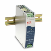 Mean Well SDR-75 75W Single Output Industrial DIN RAIL With Power Supply