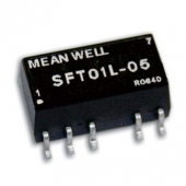 Mean Well SFT01 1W DC-DC Unregulated Single Output Converter Power Supply 3pcs