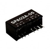 Mean Well SPA02 2W DC-DC Regulated Single Output Converter Power Supply