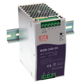 Mean Well WDR-240 240W Single Output Industrial DIN RAIL Power Supply