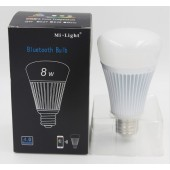 Mi.Light 8W Bluetooth Control E27 Bulb RGB+Color Temperature Lamp