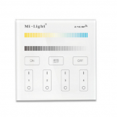 Mi.Light B2 4-Zone CCT Adjustable Touch Panel Wall Mounting LED Controller
