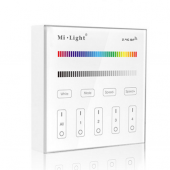 MiLight B3 4-Zone RGB RGBW Wall Mounted Touch Panel LED Controller