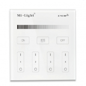Mi.Light T1 4-Zone Brightness Dimmer Smart Touch Wall Mounted Controller