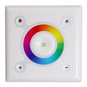 Mounted On Wall Square Touch Interface RGB LED Controller