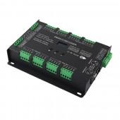 New BC-632 32CH DMX-PWM Decoder DC 5V 24V Input 3A*32CH Max 96A 2304W Output RGB RGBW Strip Controller Constant Voltage Decoder