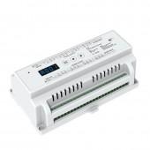 New D24 Led DMX512 24 Channel CV Constant Voltage DMX Decoder DC 5V 24V Input 3A*24CH Output With LED display DIY Setting Smx Address