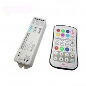 New Led RGBW Controller 28Key M8 Wireless RF Remote Controller M4 3A CV Receiver for 5050 3528 RGBW Led Strips Free shipping