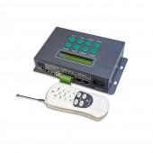New LTECH LT-800 DMX Master Controller 580 mode RF Remote RGB Led Strip Controller 250Kbps 512 DMX Channel 170 Pixels LCD Screen