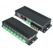 LTECH LT-880 New LTECH Led DMX decoder 24CH DMX-PWM Decoder DC 5V 12V 24V Input 3A*24CH Max 48A 1728W Output XLR-3 RJ45 DMX CV Decoder