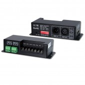 New LTECH LT-830-700 Led DMX Decoder 3CH CC RGB Strip DMX Decoder DC 12V 48V in 700mA*3CH output DC 12V 46V Output 3 Channel DMX-PWM Decoder