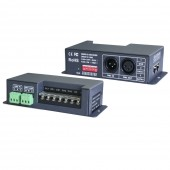 New LTECH LT-830-8A DMX-PWM CV DMX512 decoder DC 5V-24V input 8A*3CH output 24A Max RGB Strip Decoder