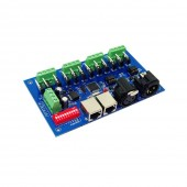 DMX512 Controller with Case Decoder 12Channel 4Group For LED DC12V-24V WS-DMX-12CH