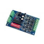 4CH RGB 350ma DMX512 decoder controller DC12V-24V WS-DMX-CHL-4CH-350MA