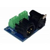 DMX512 Relays connector 3pin terminal adapter dmx controller 3P to XLR XLR3-3P
