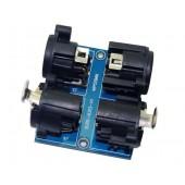 DMX512 Relays connector XLR5-XLR3