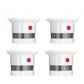 Smart Home Wireless Zigbee Smart Anti-fire Alarm Smoke Sensor Smoke detector Power Battery Operated 4pcs/lot
