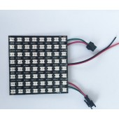 P10mm 8*8Pixels SK6812 LED Digital Flex Panel Light DC5V