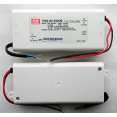 PCD-60 Series Mean Well 60W AC Dimmable LED Power Supply Driver