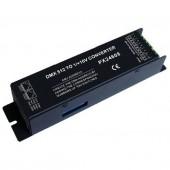 PX24608 DMX Decoder LED Controller DMX512 to 0-10v Signal Convertor
