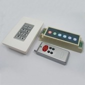 RF Wireless Remote Panel RGB LED Controller DC 12V 24V