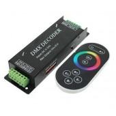 RGB DMX Decoder LED Controller DMX512 Controle Console RF Remote