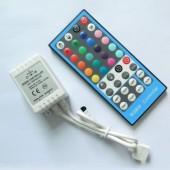 DC 12V 24V RGBW Controller 8A IR Remote Control 3pcs
