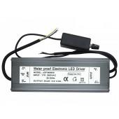 IP67 Waterproof 200W High Power Dimmable LED Driver Output 25V-36V 0-6A Input AC 170V-265V