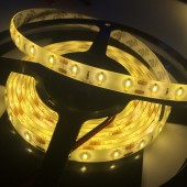 SMD 7020 LED Strip Warm White Light 60LED/M Waterproof 5M 300LEDs 12V