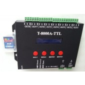 T-8000A SD Card LED Controller For RGB Pixels