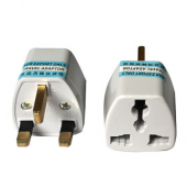 Travel Power Plug Adapter EU EURO AU US to UK Adaptor Converter 3 Pin AC 10pcs