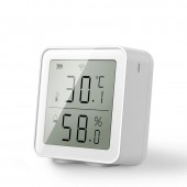 WIFI Temperature And Humidity Sensor Indoor Hygrometer Thermometer With LCD Display Support Alexa Google Assistant