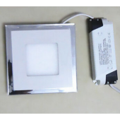 Ultra Thin LED Panel Downlight 10W 15W 20W Square Ceiling Recessed Spot Light