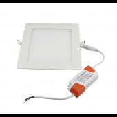 Ultra thin Square LED Panel Light Recessed Ceiling Downlight AC85-265V 2Pcs