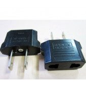 Universal Travel Power Plug Adapter EU EURO to US Adaptor Converter AC 30pcs