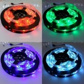 16.4 Ft 5M 150 LEDs RGB 5050 LED Strip 30LEDs/M 12V Light 2pcs