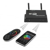 WF100 WiFi RGB LED Controller Control LED Lights With Smartphone IOS Android Device